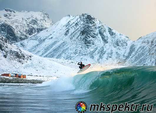 Альпинизм, плавание или сёрфинг на полюсе