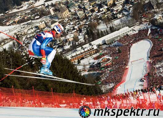 Лыжные гонки на трассе Ханенкамм, Австрия