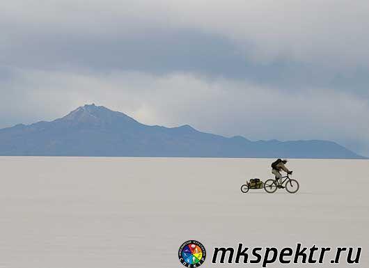 Велокросс от Аляски до Аргентины.