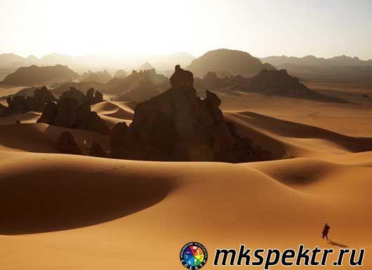 Переход через пустыню Сахару, Северная Африка